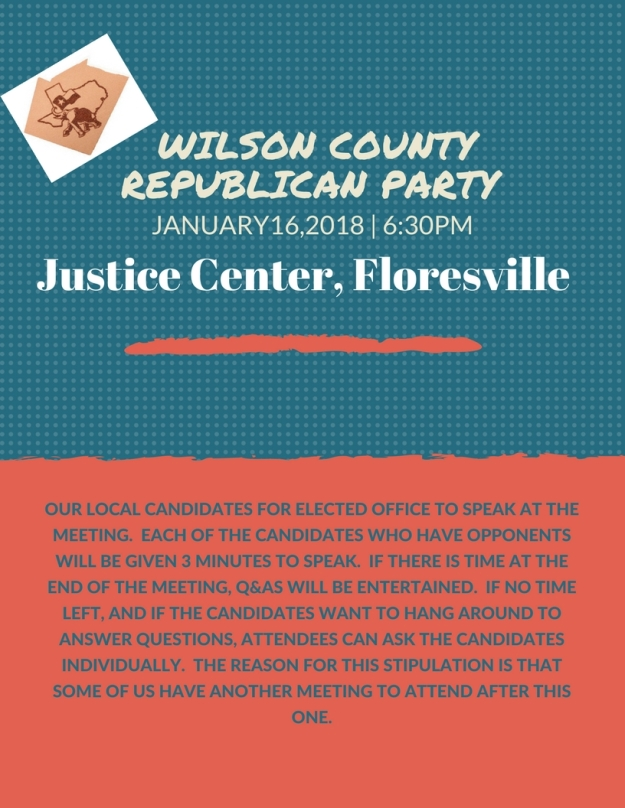Wilson COunty Republican Party 1
